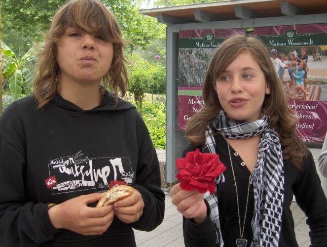 photo de Maylis et de Mélanie